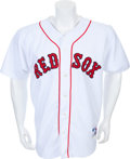 Baseball Collectibles:Uniforms, 2004 Johnny Damon Game Worn Boston Red Sox Jersey. ...