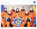 Autographs:Celebrities, Space Shuttle Discovery (STS-128) Crew-Signed Color Photo....