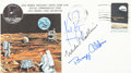 """Explorers:Space Exploration, Apollo 11 Crew-Signed """"Type One"""" Insurance Cover Directly from thePersonal Collection of Mission Command Module Pilot Michael..."""