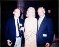 Autographs:Celebrities, Buzz Aldrin Signed Color Photo, Originally from the PersonalCollection of Dr. Shirley Thomas....