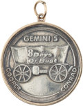 Explorers:Space Exploration, Gemini 5 Flown Silver Fliteline Medallion Directly from the JimRathmann Collection. ...