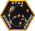 Explorers:Space Exploration, Gemini 6A Flown Embroidered Mission Insignia Patch Directly fromthe Jim Rathmann Collection....