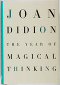 Books:Biography & Memoir, Joan Didion. SIGNED. The Year of Magical Thinking. Alfred A.Knopf, 2005. Second printing before publication. Si...