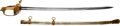 Edged Weapons:Swords, Magnificent Quality, Superb Condition, Ivory Grip Civil War Officer's Presentation Grade Sword. ...