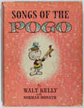 Books:Comics - Silver Age, Walt Kelly. Songs of the Pogo. Simon and Schuster, 1956.First printing. Illustrated. Publisher's original bindi...