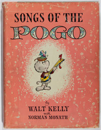 Walt Kelly. Songs of the Pogo. Simon and Schuster, 1956. First printing. Illustrated