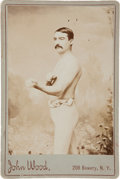 Boxing Collectibles:Memorabilia, Late 1800's Billy Madden Original Cabinet Photograph....