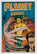 Golden Age (1938-1955):Science Fiction, Planet Comics #49 (Fiction House, 1947) Condition: FN-....