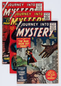 Golden Age (1938-1955):Horror, Journey Into Mystery Group (Marvel, 1955-56) Condition: AverageVG.... (Total: 4 Comic Books)