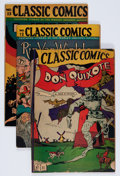 Golden Age (1938-1955):Classics Illustrated, Classic Comics #11-13 and 15 Group (Gilberton, 1943) Condition: Average VG/FN.... (Total: 4 Comic Books)