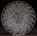 Art Glass:Lalique, LALIQUE CLEAR GLASS ROSCOFF PLATE . Post 1945. Engraved:Lalique, France. 13-7/8 inches diameter (35.4 cm). ...