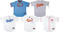 Baseball Collectibles:Uniforms, Baseball Signed Jersey - Lot of 5....