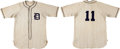 Baseball Collectibles:Uniforms, 1958-64 Dallas Rangers Game Worn Jersey and Pants. ...