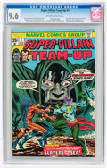 Bronze Age (1970-1979):Superhero, Super-Villain Team-Up #1 (Marvel, 1975) CGC NM+ 9.6 Off-white towhite pages....