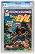 Bronze Age (1970-1979):Horror, Tales of Evil #1 (Atlas-Seaboard, 1975) CGC NM/MT 9.8 Whitepages....