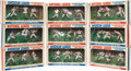 Baseball Cards:Sets, 1969 Transogram Baseball Figurines Collection (9) - All Complete Boxes. ...
