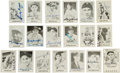 "Baseball Cards:Autographs, Signed 1978 ""Grand Slam"" Trading Cards Lot of 19...."