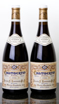 Red Burgundy, Chambertin 1996 . A. Rousseau . Bottle (2). ... (Total: 2Btls. )
