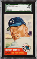 Baseball Cards:Singles (1950-1959), 1953 Topps Mickey Mantle #82 SGC 88 NM/MT 8....