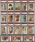 "Non-Sport Cards:Sets, 1959 Fleer ""Three Stooges"" PSA-Graded Complete Set (96) Plus AllThree Checklists! ..."