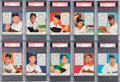 Baseball Cards:Sets, 1952 Red Man Tobacco High Grade Near Set (41/52). ...