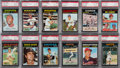 Baseball Cards:Lots, 1971 Topps Baseball PSA-Graded Collection (132) With Stars &HoFers. ...