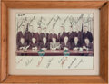 Autographs:Celebrities, NASA Astronaut Group One and Group Two Large Color Photo Signed....
