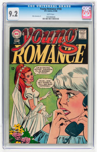 Young Romance #155 (DC, 1968) CGC NM- 9.2 White pages