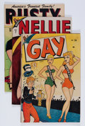 Golden Age (1938-1955):Miscellaneous, Timely Humor Group (Timely, 1946-47) Condition: Average FN.... (Total: 11 Comic Books)