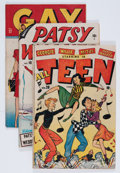 Golden Age (1938-1955):Miscellaneous, Timely Teen Humor Group (Timely, 1947) Condition: Average VG+.... (Total: 14 Comic Books)