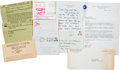 Explorers:Space Exploration, Apollo Launch Invitations and Personal Correspondence from Astronauts and their Wives, Directly from the Jim Rathmann Collecti...