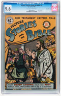 Golden Age (1938-1955):Religious, Picture Stories from the Bible New Testament Edition #3 Gaines Filepedigree (EC, 1946) CGC NM+ 9.6 Cream to off-white pages....