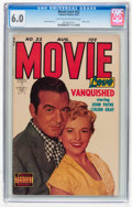 Golden Age (1938-1955):Romance, Movie Love #22 (Famous Funnies, 1953) CGC FN 6.0 Light tan tooff-white pages....