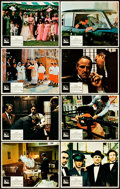 "Movie Posters:Crime, The Godfather and The Godfather Part II (Paramount, 1972 &1974). Lobby Card Sets of 8 (2) (11"" X 14"").. ... (Total: 16 Items)"