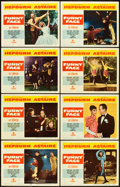 "Movie Posters:Romance, Funny Face (Paramount, 1957). Lobby Card Set of 8 (11"" X 14"").. ... (Total: 8 Items)"