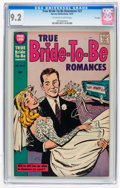 Silver Age (1956-1969):Romance, True Bride-to-Be Romances #27 File Copy (Harvey, 1957) CGC NM- 9.2Off-white to white pages....