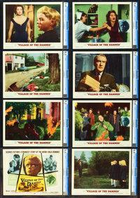 "Village of the Damned (MGM, 1960). CGC Graded Lobby Card Set of 8 (11"" X 14""). ... (Total: 8 Items)"
