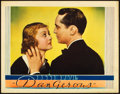 "Movie Posters:Drama, Dangerous (Warner Brothers, 1935). Lobby Card (11"" X 14"").. ..."