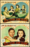 """Movie Posters:Comedy, Love Finds Andy Hardy (MGM, 1938). Lobby Cards (2) (11"""" X 14""""). Comedy.. ... (Total: 2 Items)"""