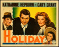 "Movie Posters:Comedy, Holiday (Columbia, 1938). Lobby Card (11"" X 14"").. ..."