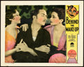 "Movie Posters:Drama, Behind the Make-Up (Paramount, 1930). Lobby Card (11"" X 14"").. ..."