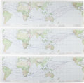 Explorers:Space Exploration, Apollo 11 Earth Orbit Charts, Set of Three.... (Total: 3 Items)