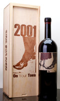 Domestic Syrah/Grenache, Sine Qua Non Syrah 2001 . On Your Toes. owc. Magnum (1). ...(Total: 1 Mag. )