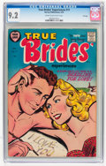 Golden Age (1938-1955):Romance, True Brides' Experiences #11 File Copy (Harvey, 1955) CGC NM- 9.2Cream to off-white pages....