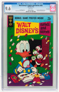 Bronze Age (1970-1979):Cartoon Character, Walt Disney's Comics and Stories #355 Twin Cities pedigree (GoldKey, 1970) CGC NM+ 9.6 White pages....