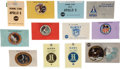 Explorers:Space Exploration, Gemini, Apollo, and Beyond: Collection of Launch Badges Directlyfrom the Jim Rathmann Collection. ... (Total: 3 )
