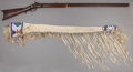 American Indian Art:Beadwork and Quillwork, A UTE BEADED HIDE RIFLE SCABBARD . c. 1890 ... (Total: 2 Items)
