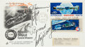 Autographs:Celebrities, Apollo-Soyuz Test Project Crew-Signed Launch & First Day Cover....