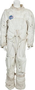Explorers:Space Exploration, Apollo-Era Astronaut Spacesuit, NASA-Used for Traveling Exhibit Program. ...