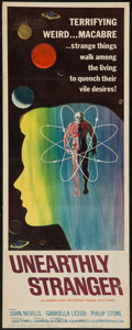 "Movie Posters:Science Fiction, Unearthly Stranger (American International, 1963). Insert (14"" X 36""). Science Fiction.. ..."
